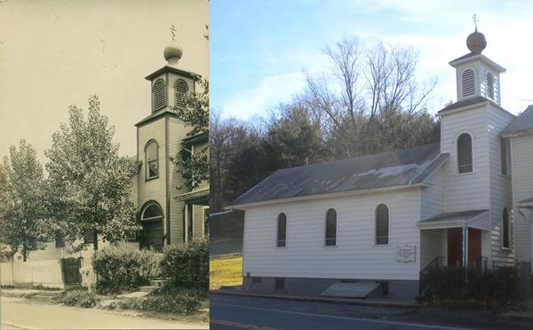 St. Mary's Orthodox Church, 1920 vs. 2012
