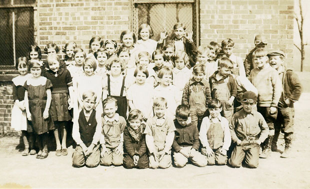 Ganister school photo from 1936