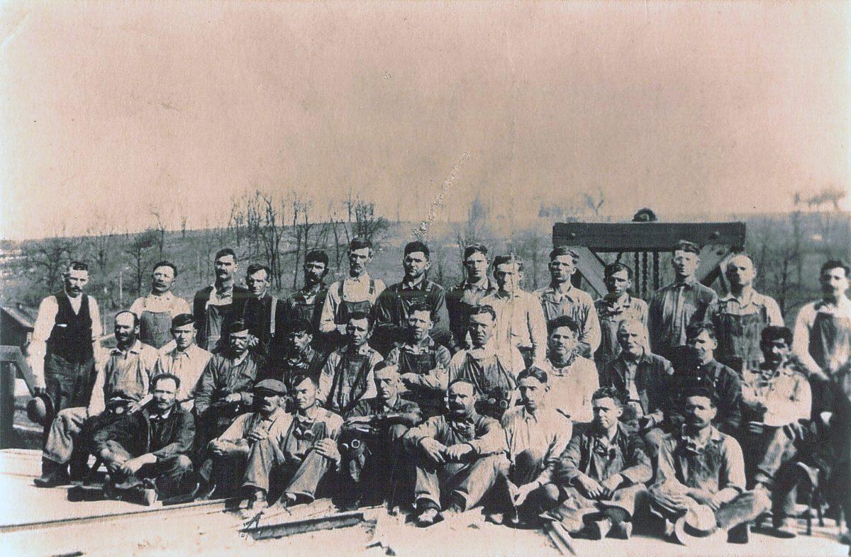 Ganister Quarry Crew No. 1, ca. 1924